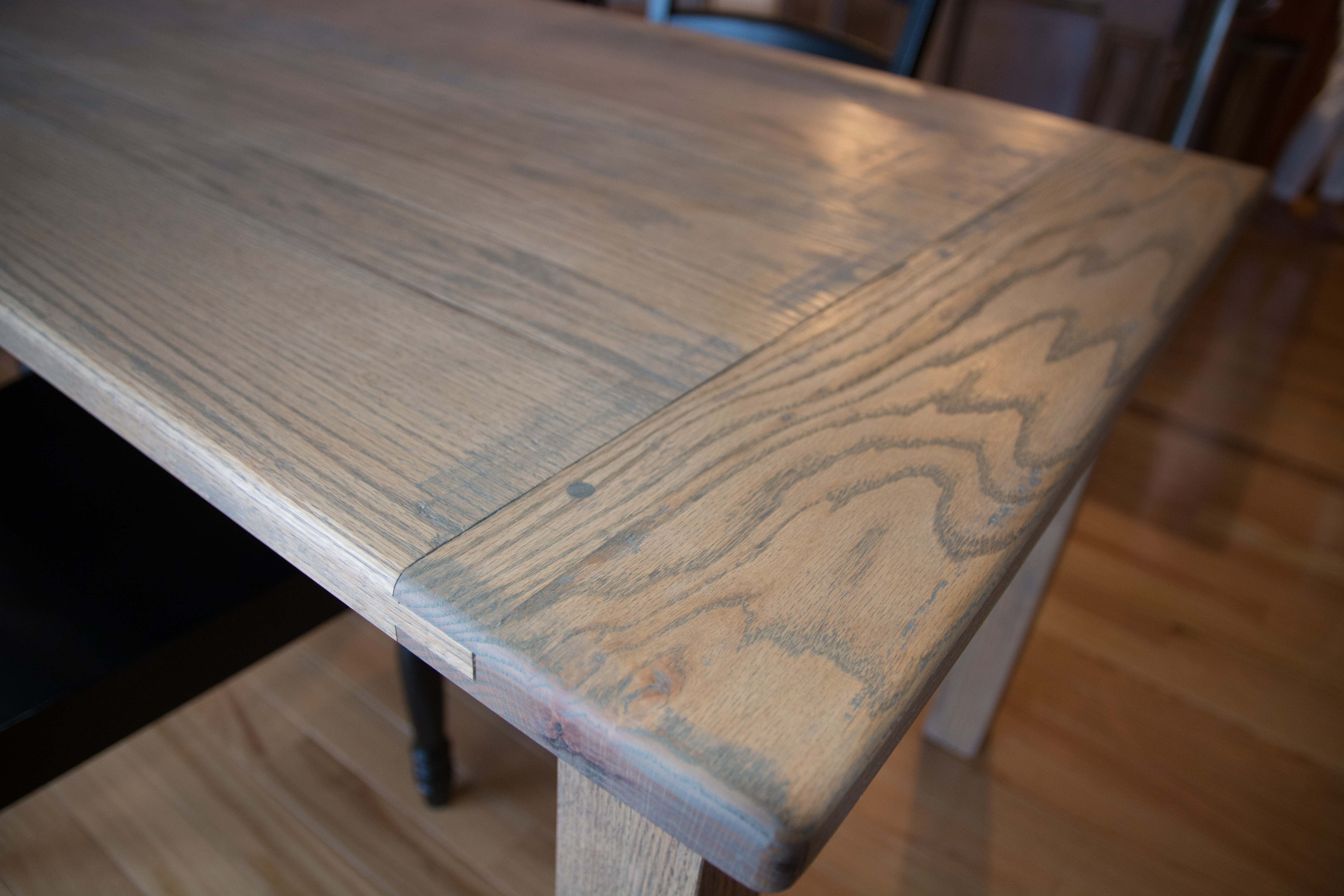 The Weathered Oak Harvest Table
