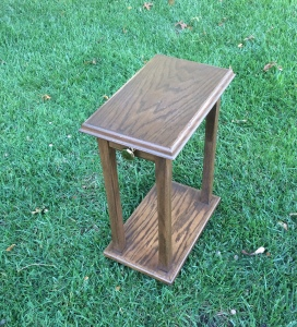 Small side table from scraps